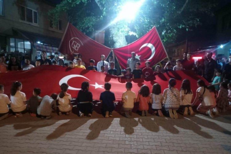 Bursa Mustafakemalpaşa'da deve şenliği