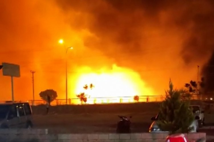 Adıyaman'daki yangınlarda 11 kişi hastanelik oldu