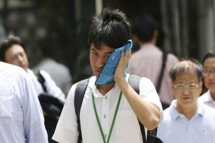 Japonya'da aşırı sıcaklar nedeniyle 23 kişi yaşamını yitirdi