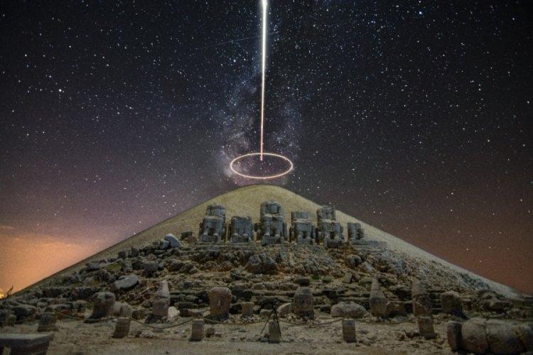 Nemrut Dağı Samanyolu görüntülendi