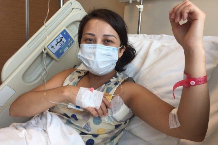 Türkiye'de ilk! Koltuk altından tiroit kitlesi ameliyatı yapıldı