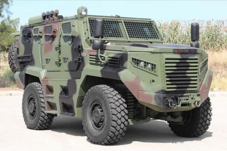 Katmerciler'den, Kenya'ya 91,4 milyon dolarlık zırhlı araç satışı