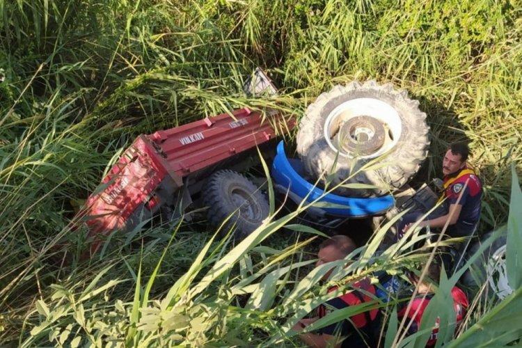 Aydın'da bir kişi traktörün altında can verdi