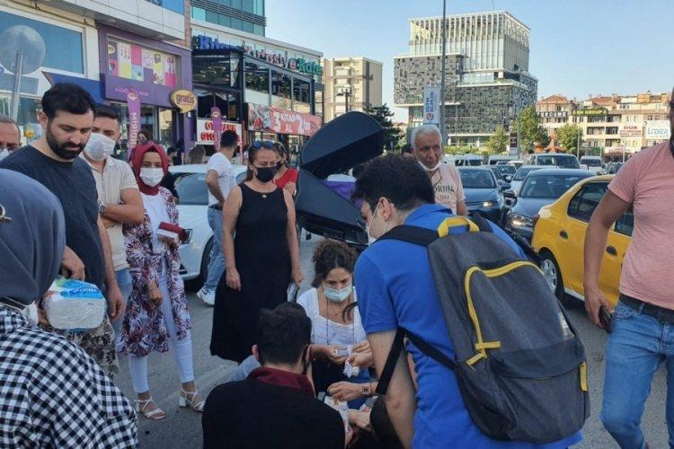 Bursa'da Getir kazası