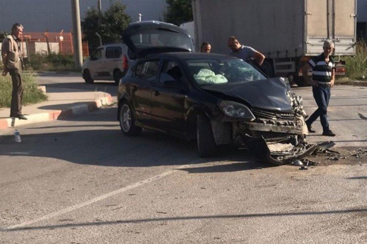 Bursa İnegöl'de kaza