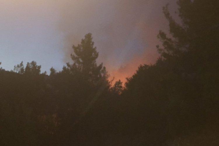Adana Kozan'da orman yangını! Köyler tahliye ediliyor