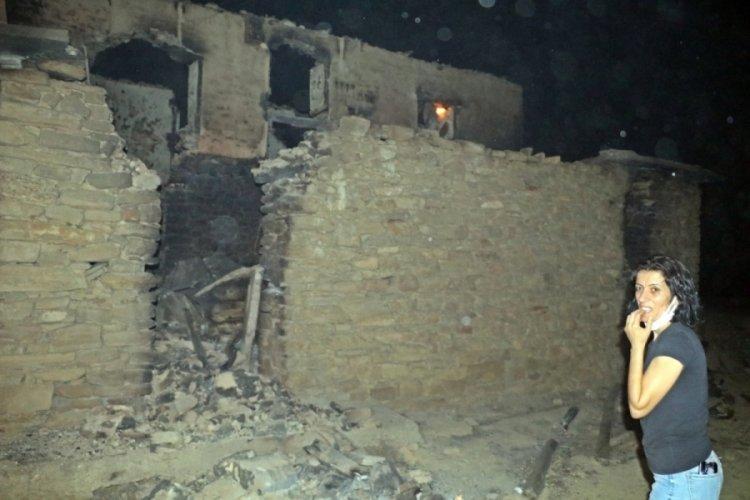 Manavgat'taki yangında birçok hayvan telef oldu!