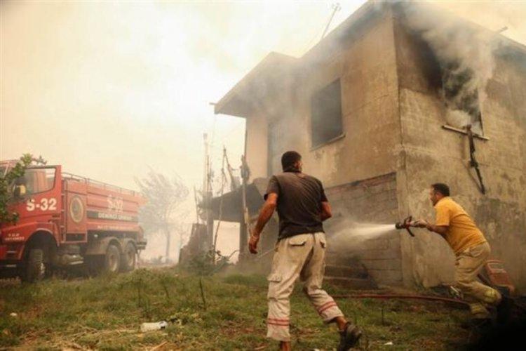 Antalya'da bir ilçede daha orman yangını çıktı! 'Evlerin yüzde 80'i yandı'