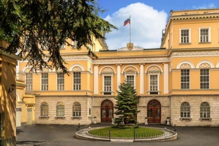 Rusya Konsolosluğu önündeki yangın iddiasına açıklama