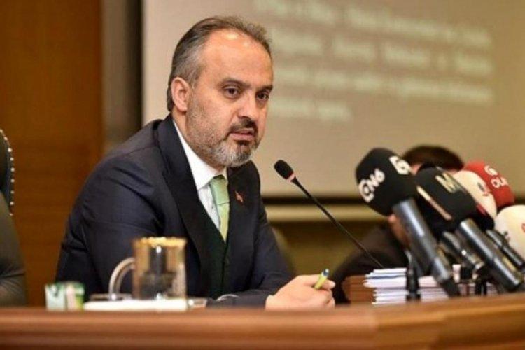 Bursa Büyükşehir Belediye Başkanı Aktaş'tan Tanju Özcan'ın sözlerine tepki