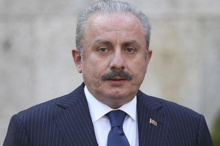 Mustafa Şentop Bakü'den ayrıldı