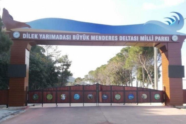Kuşadası'nda Milli Park'a giriş çıkış kapatıldı