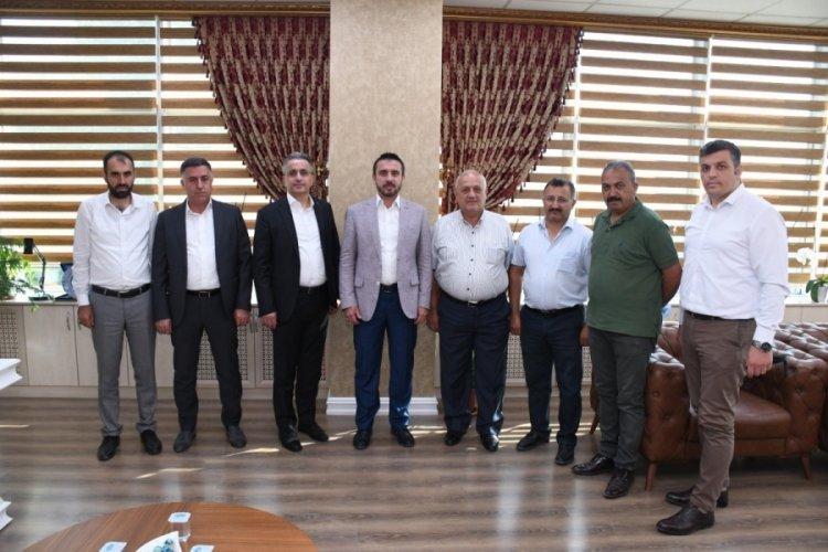 Bursa İMSİAD'dan Başkan Önder Tanır'a istişare ziyareti