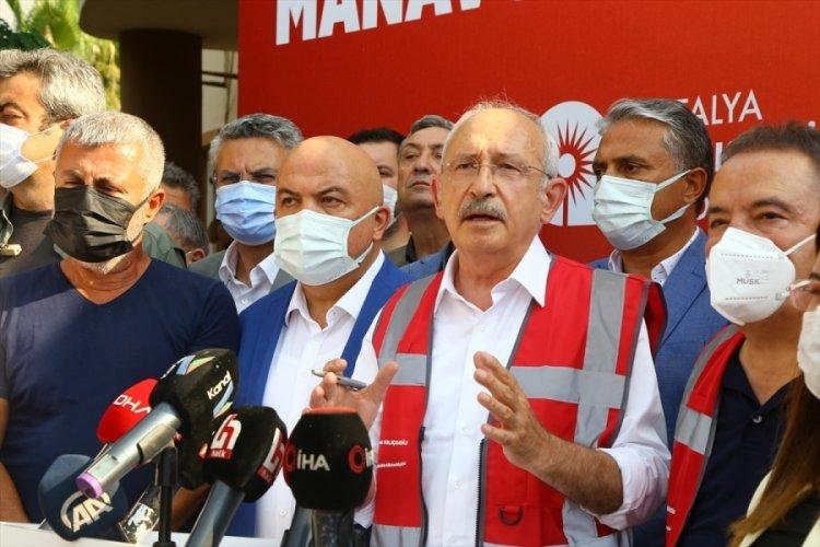 Kemal Kılıçdaroğlu, Manavgat'ta: Nereye gitti bu uçaklar?