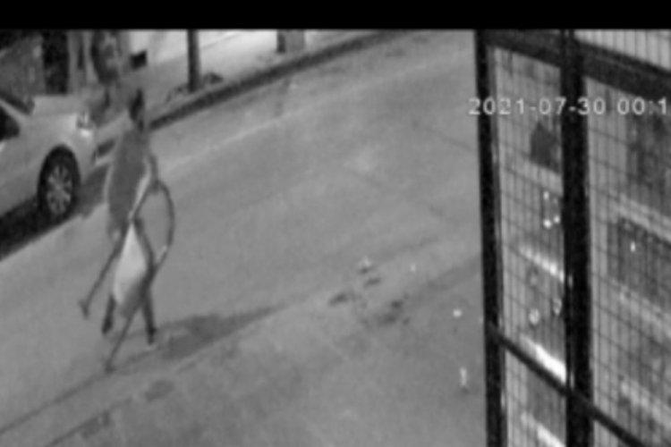 Çöp kovasına saldıran kişi gözaltına alındı