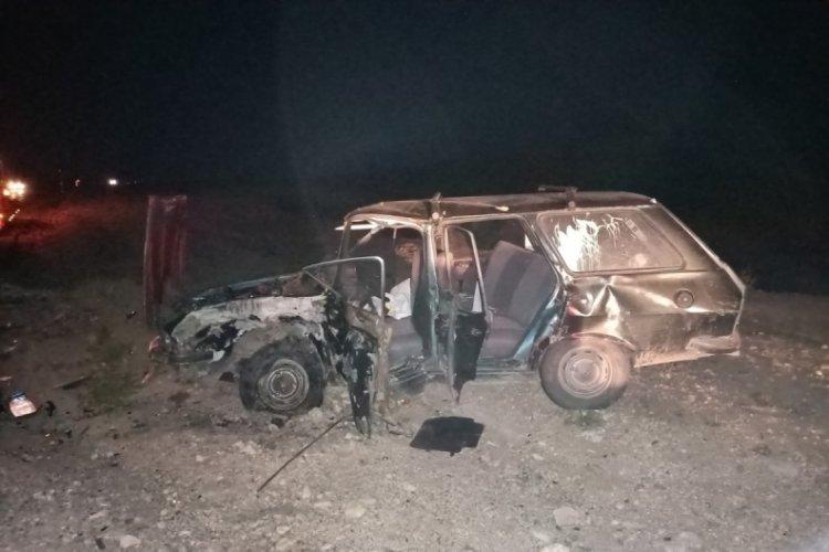 Tokat'ta kaza: 6 yaralı
