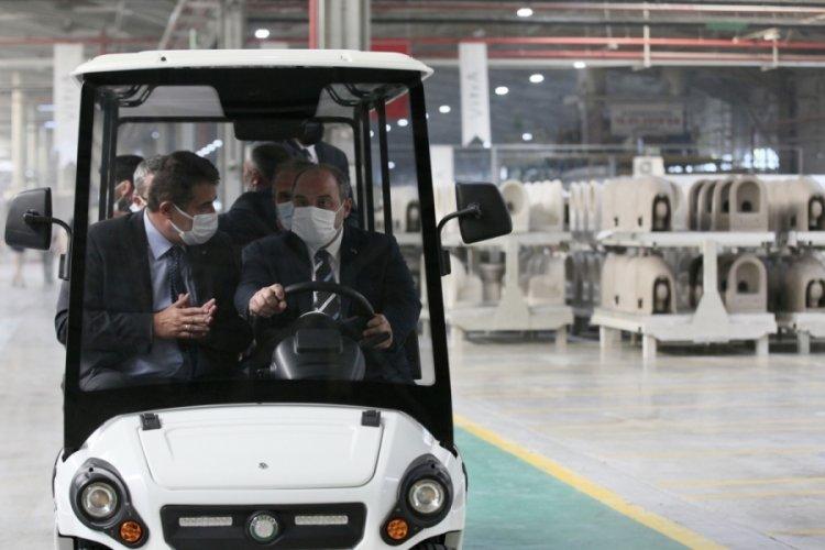 Bakan Varank Bilecik'te fabrikaları ziyaret etti
