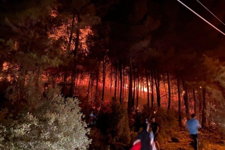 Şimdi de Fethiye'de yangın çıktı!