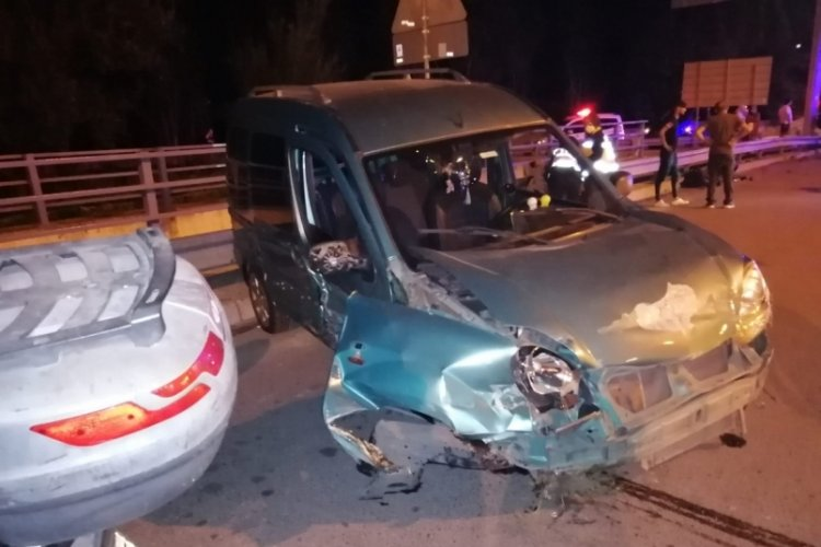 Düğün yolunda kaza: 7 yaralı