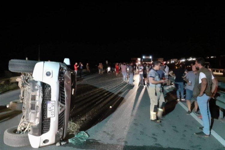 Kuşadası yolunda kaza: 9 yaralı