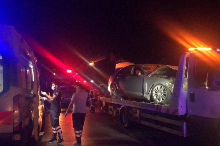 Bursa'nın Gemlik ilçesinde yaşanan kazada ölü sayısı 2'ye yükseldi