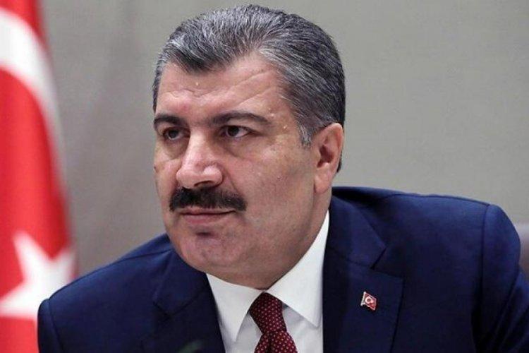 Sağlık Bakanı Koca'dan yangın açıklaması: 160 kişi etkilendi