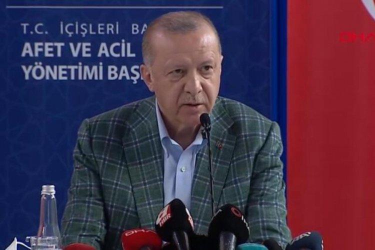 Cumhurbaşkanı Erdoğan yapılacak yardımları açıkladı!