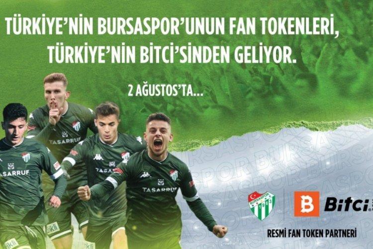 Bursaspor Fan Token dijital paraları satışa çıkıyor