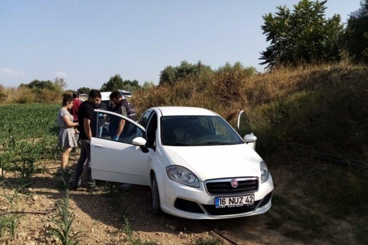 Bursa'da kovalamacanın ardından çalıntı araçla yakalandılar