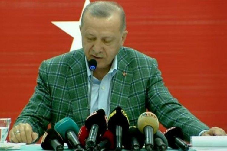 Cumhurbaşkanı Erdoğan: Bir binanın tuğlaları gibi sıkı sıkı kenetlenmeye davet ediyorum