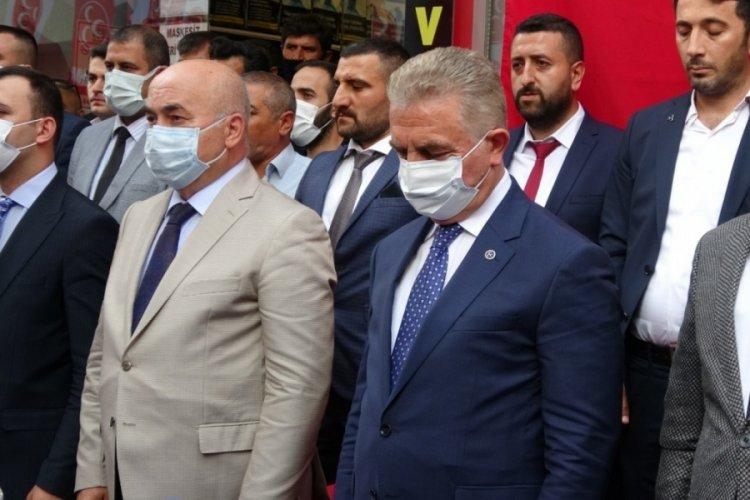 """MHP Genel Sekreteri İsmet Büyükataman: """"Türkiye'nin dört bir yanında çıkarılan yangınlar yüreğimizi kavuruyor"""""""