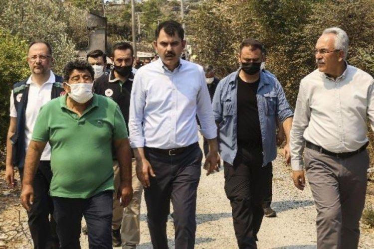 Bakan Murat Kurum, 5 ildeki hasar tespit çalışmalarıyla ilgili bilgi verdi
