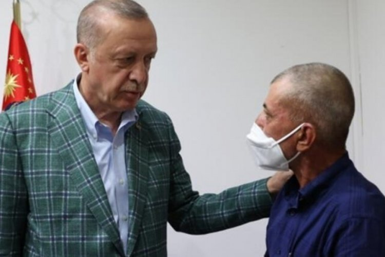 Cumhurbaşkanı Erdoğan, Akdemir'in ailesi ile görüştü