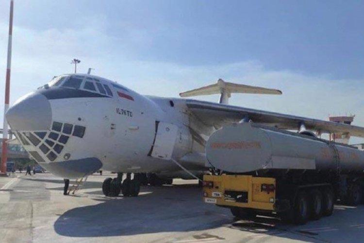İran'ın uçan tankerine Türkiye'de su ikmali