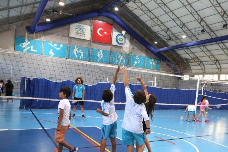 Bursa Nilüfer'de yaz okulları dopdolu geçiyor