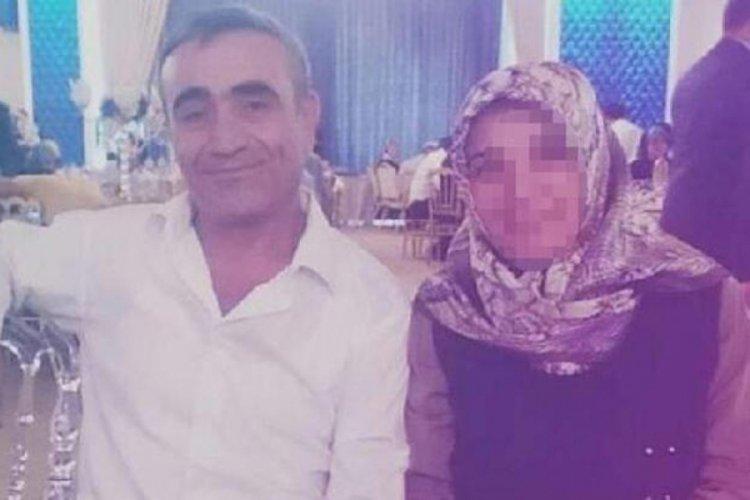 Oğluyla birlikte eşini öldürdü!