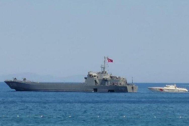 MSB, tahliyeye destek için 2 gemi gönderdi