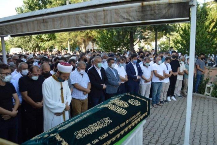 Yenişehir Belediye meclis üyesi Bursa'da son yolculuğuna uğurlandı