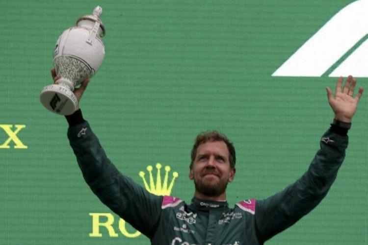 Sebastian Vettel, yarıştan diskalifiye edildi!