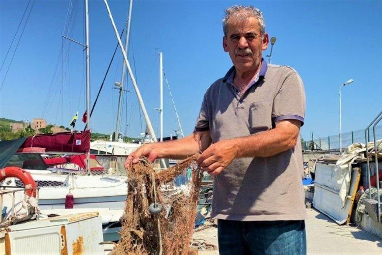 Kocaeli Gebze'de balıkçılar müsilajdan şikayetçi!