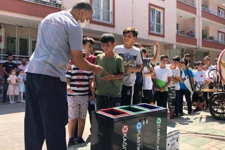 Bursa'da çocuklara doğayı koruma bilinci aşılandı