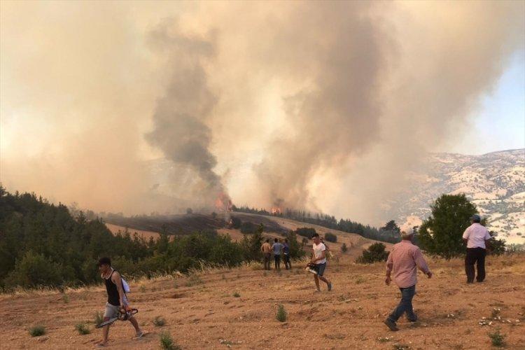 Denizli'de orman yangını: Vatandaşlar evlerini boşaltıyor