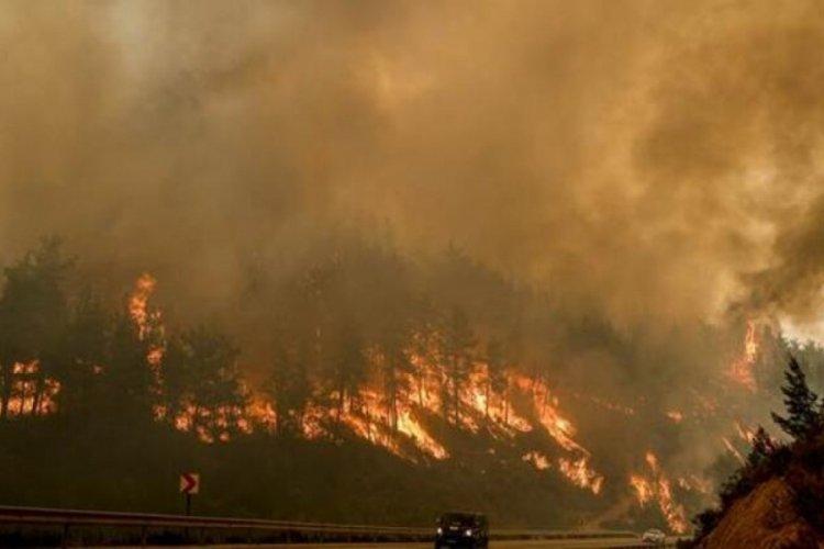 Yangının vurduğu Antalya'da Meteorolojiden uyarı
