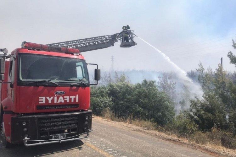 MSB'den yangın bölgelerine destek paylaşımı