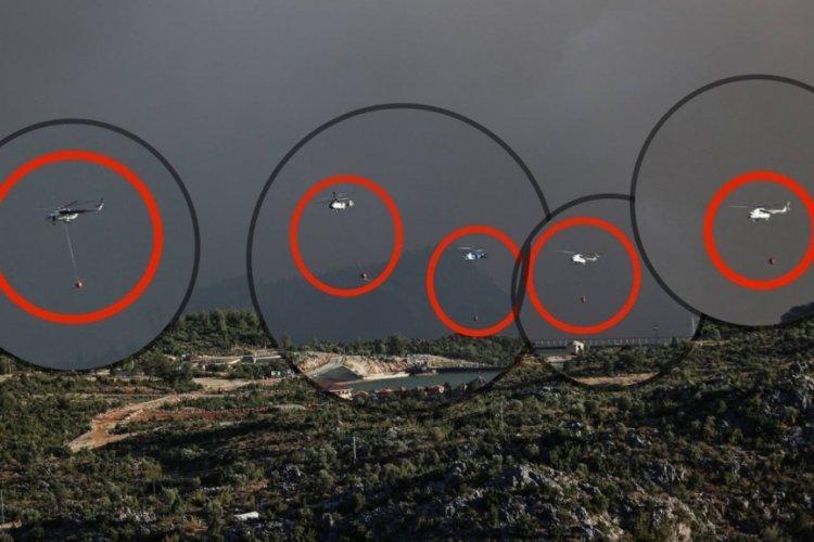Fahrettin Altun: Tek karede 5 helikopter