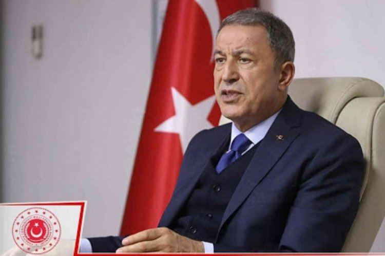 Bakan Akar: Yunanistan'ın saldırgan söylemlerinden vazgeçmesini bekliyoruz