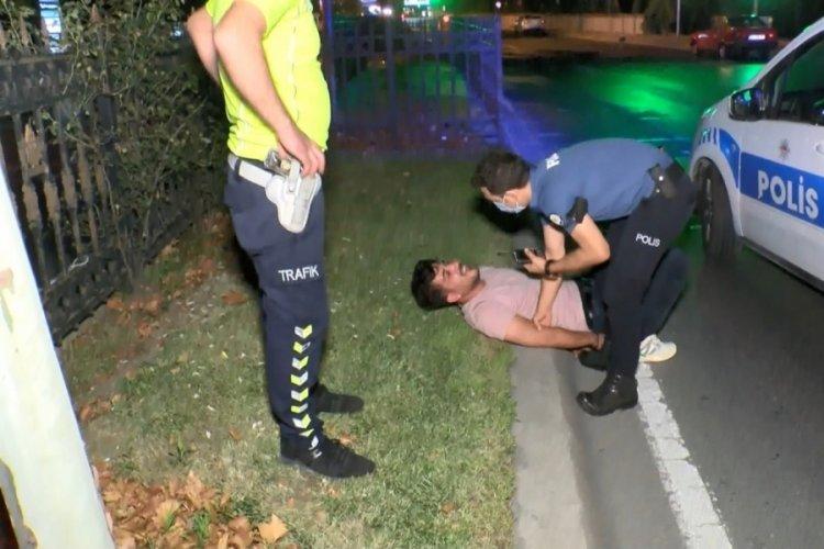 İstanbul Sarıyer'de sürücü başkasının ehliyetiyle yakalandı!