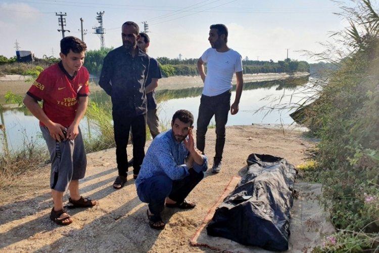 Adana'da kanalda kaybolan Suriyeli gencin cansız bedeni bulundu