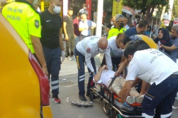 Çorum'da korkunç kaza! Yaralılara ilk müdahaleyi yoldan geçen sağlıkçı yaptı