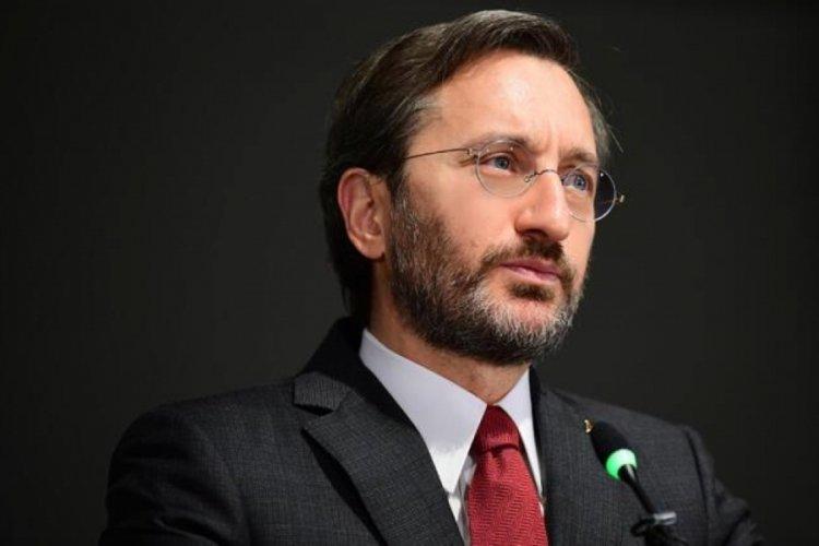 """Fahrettin Altun, """"Help Turkey"""" kampanyasına tepki gösterdi"""